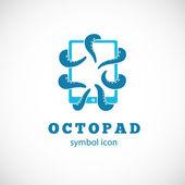 Octo Pad symbol icon — Stock Vector