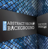 Perspective abstract vector background — Stock Vector