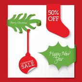 Vector Christmas banners set — Stockvector