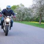 Motorbiker — Stock Photo #40435435