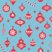 Seamless pattern for winter and christmas theme — Stock Vector