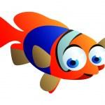 Fish cartoon — Stock Vector #41041673