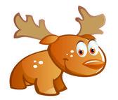 Kreskówka dla dzieci jelenia — Wektor stockowy