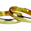 Golden rings — Vettoriale Stock #41427711