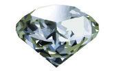 Realistic diamond — Stock Vector