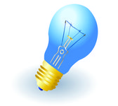 Light bulb — Stockvector