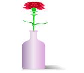 Roses in pots — Stock Vector