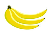 Banana — Stock Vector