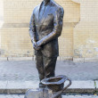 Stock Photo: Statue of KisVorobyaninov. Russia, Pyatigorsk