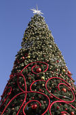 City Christmas Tree — Stock Photo