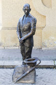 Statue of a Kisa Vorobyaninov. Russia, Pyatigorsk — Stock Photo