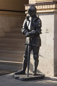 Knight sculpture — Foto de Stock
