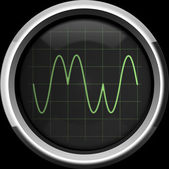 Signal with phase modulation (PM) — Stock Photo