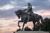 Pyatigorsk, Russia, monument to the Russian Imperial general Yermolov — Stock Photo