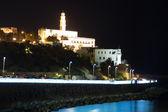 Old Jaffa at night . Israel — Stock Photo