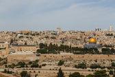 Jerusalem panorama — Stock Photo