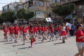 Holon Adloyada . Purim carnival . Israel — Stock Photo