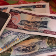 Banknote Laos — Stock Photo