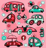 Dessin animé cars — Vecteur