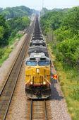 Coal Train Locomotive — Stock Photo