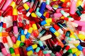 Empty crug capsules — Stock Photo