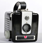 Vintage film camera — Stock Photo