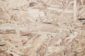 Osb wood fiberboard background texture — Stock Photo