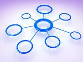 Netwerk — Stockfoto