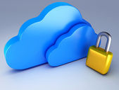 Cloud security — Stock Photo