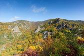 Autumnal Danube Valley — Stock Photo