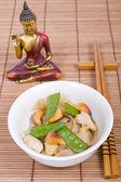 Thai rice noodle — Stock Photo