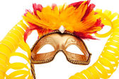 Venetiaanse carnaval masker — Stockfoto
