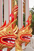 Dragon at the temple Wat Chalong in Phuket — Stock Photo