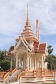 Temple Wat Chalong in Phuket — Stock Photo