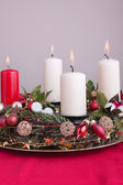 Advent wreath — Foto de Stock