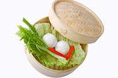 Tapioca dumplings — Stock Photo