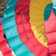 Coloured parachute — Stock Photo
