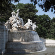 Neptune fountain of Schoenbrunn Palace — Stock Photo #42703385