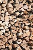 Wood sawn — Stock Photo