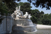 Neptune fountain of Schoenbrunn Palace — Stock Photo