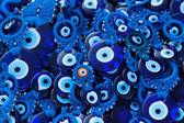 Blue glass eye — Stock Photo