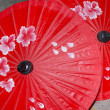 Asian umbrellas — Stock Photo