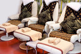 Massage chairs — Stock Photo