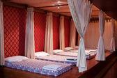 Massage beds — Stock Photo