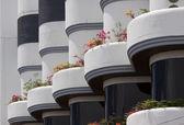 Modern architecture — Stockfoto
