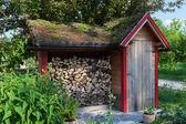 Small hut — Stock Photo