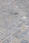 Street with cobblestones — Foto Stock