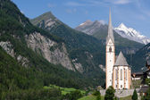Church of Heiligenblut in Austria — Stock Photo