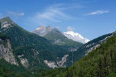 Mountain peaks from Grossglockner — Stock Photo
