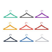 Clothes hanger — Stockvektor